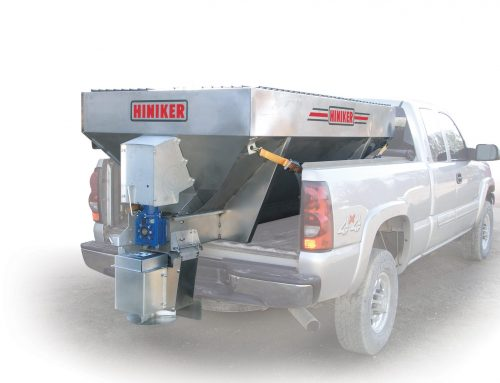 New Dual-Motor Electric Auger Spreader from Hiniker Company