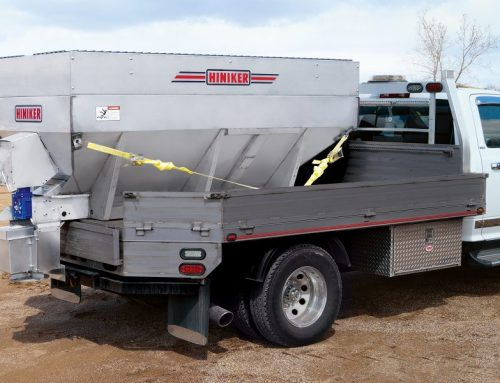 Hiniker Model 975 Dual-Motor Electric Salt and Sand Spreader