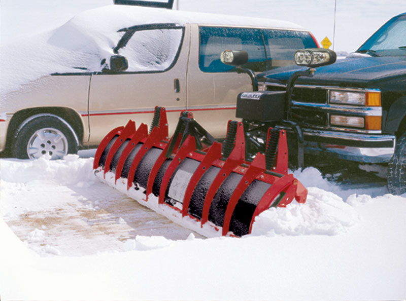 C-Plow in parking lot