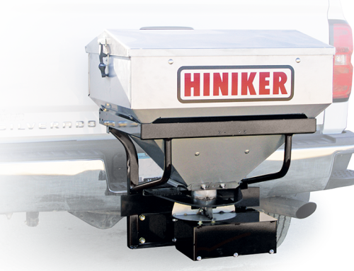 New Hiniker SS600/SS1000 Stainless Steel Tailgate Spreaders