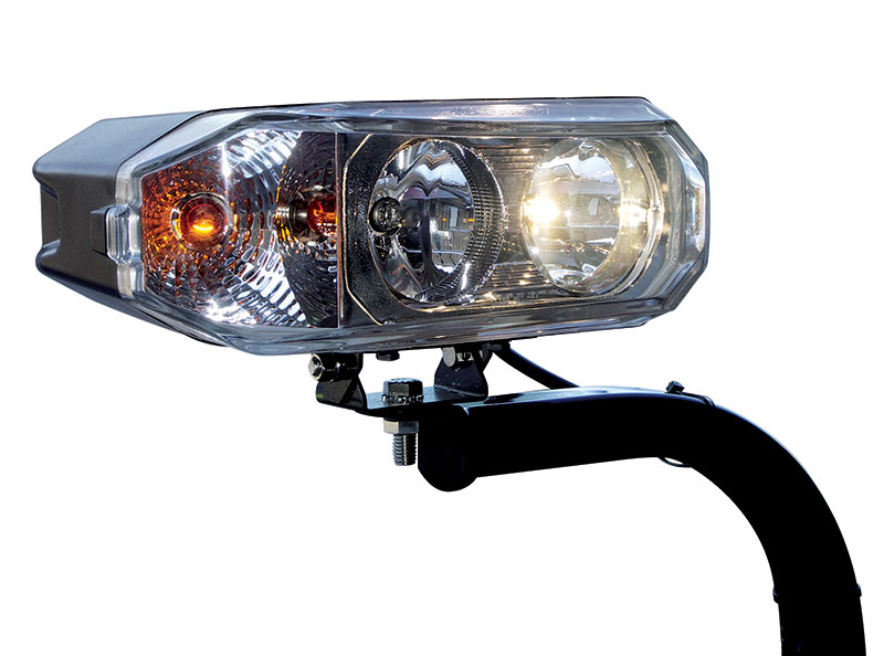 Quad Halogen Headlights