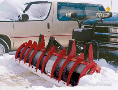 Hiniker C-Plow Speeds Snow Removal