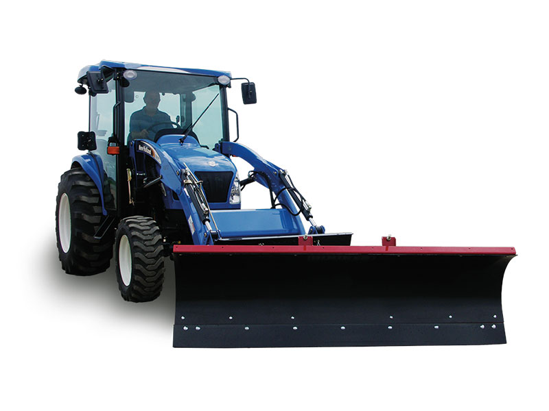 6', 7' & 7½' Loader Snowplows for Compact Utility Tractors