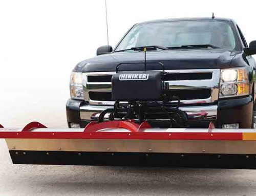 New Hiniker Tilt-Lift Plow Utilizes O.E.M Truck Lights