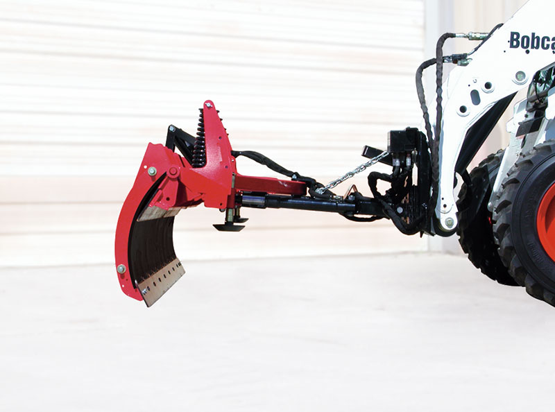 Skid Steer C-Plow Pull