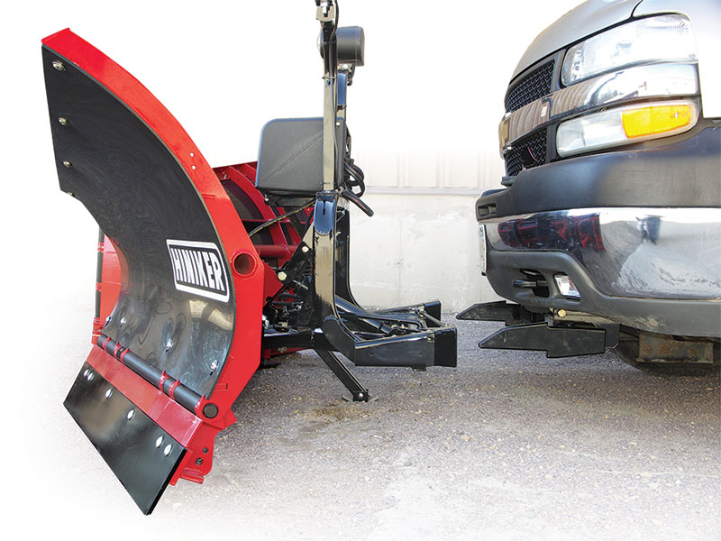 Quick-Hitch Snowplow Mounting Systems