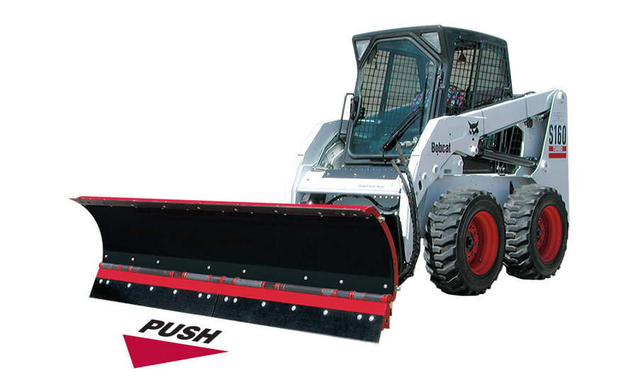 Skid Steer C-Plow Push