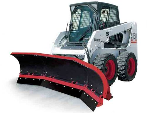 Skid Steer Mounted Plows from Hiniker