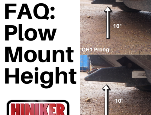 FAQ: Plow Mount Prong Height