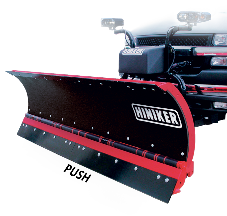 reversible c plow hiniker snowplows