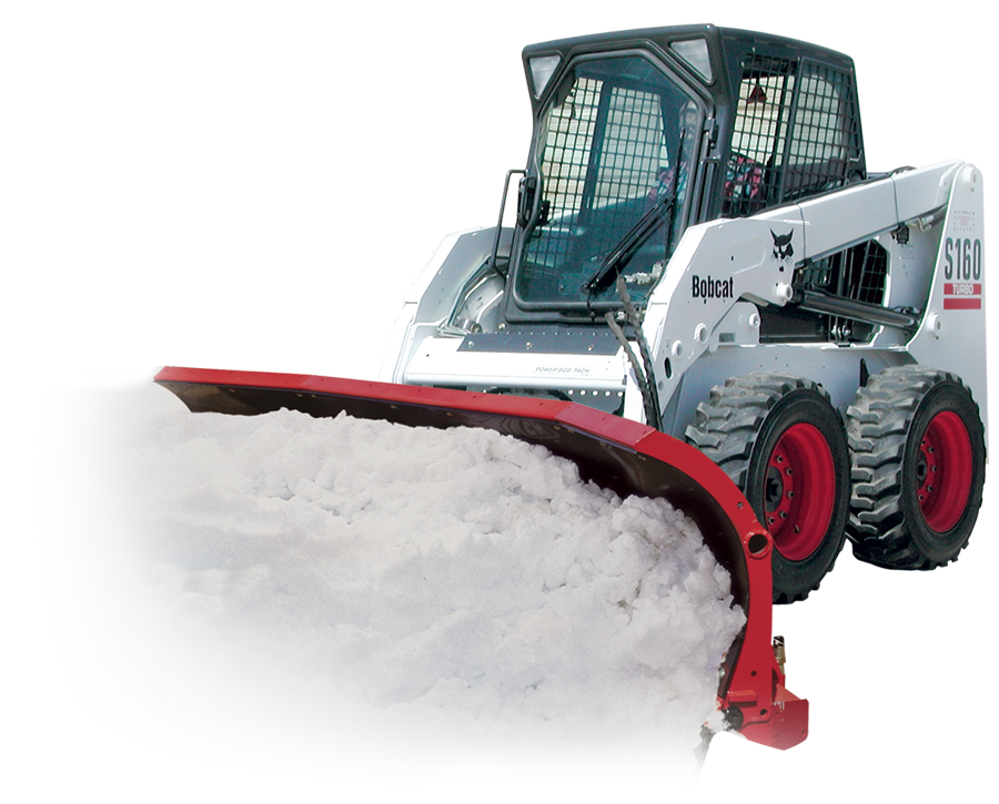 Skid Steer Scoop Plow